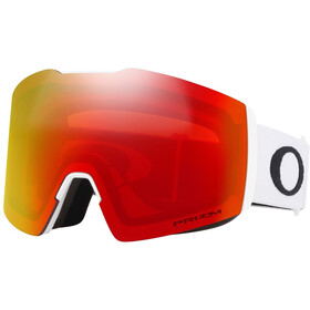 Oakley Fall Line XL Snow Goggles Herre matte white/prizm snow torch iridium